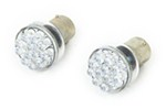 CIPA EVO Formance 1156 Round LED Bulbs - Ultra White - Qty 2