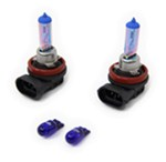 CIPA EVO Formance Spectras H11 Halogen Headlight Bulbs - Blue - Qty 2