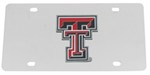 Texas Tech Red Raiders NCAA License Plate - Stainless Steel