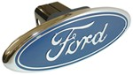 Ford - Chrome Trailer Hitch Receiver Cover