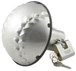 Baseball Stainless Steel Trailer Hitch Cover with Lock