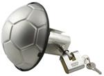 Soccer Ball Stainless Steel Trailer Hitch Cover with Lock
