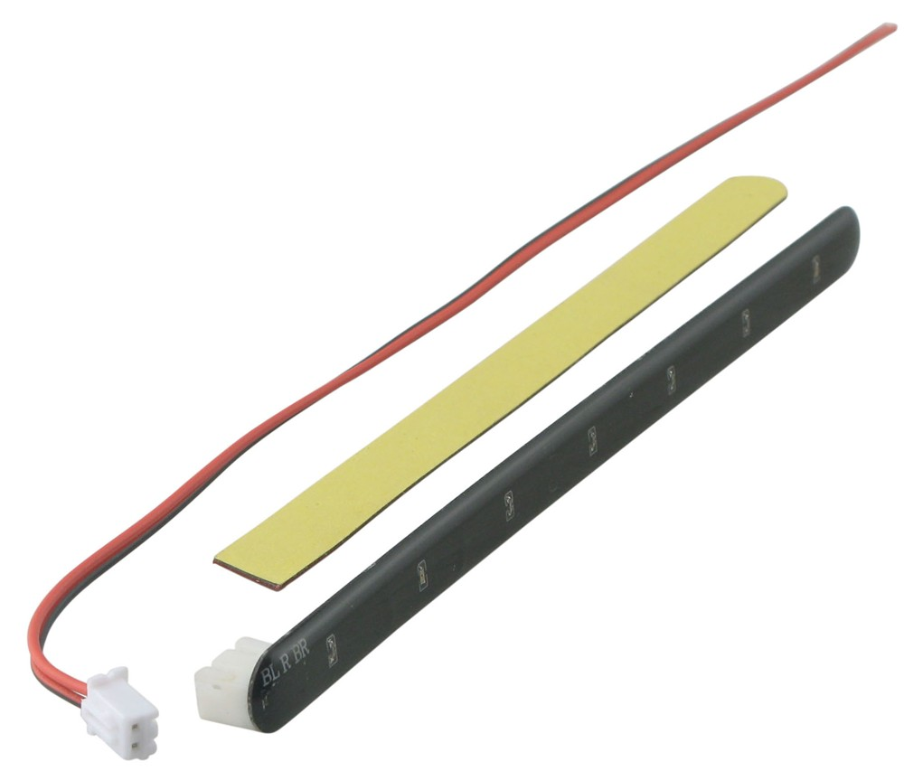 replacement led strip for bully round tube hitch step