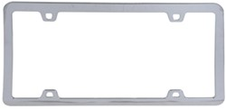 Neo License Plate Frame - Chrome