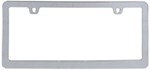 Neo Classic License Plate Frame - Chrome