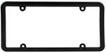 Classic Lite License Plate Frame - Black