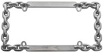 Chain License Plate Frame - Chrome