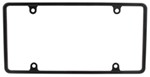 Slim Rim License Plate Frame - Black