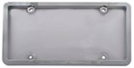 Ultimate Tuf Combo License Plate Frame and Clear Shield - Chrome