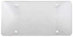 Cruiser Accessories Bubble Shield for License Plates - Clear