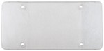Cruiser Accessories Tuf Flat Shield for License Plates - Clear