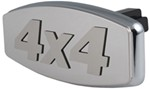 "4 x 4 Trailer Hitch Cover for 1-1/4"" and 2"" Hitches"
