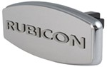 "Jeep Wrangler Rubicon Trailer Hitch Cover for 1-1/4"" and 2"" Hitches"