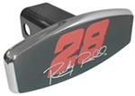 Ricky Rudd #28 NASCAR Chrome Trailer Hitch Receiver Cover
