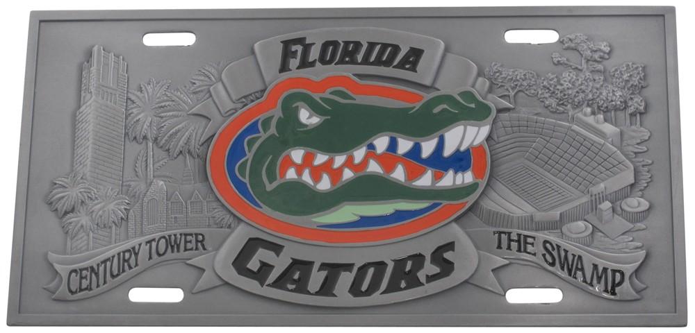 license plates collegiate collegiate d i florida full plate metal