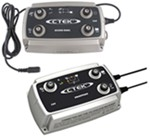 CTEK D250S DUAL 12-Volt Battery Charger with SmartPass Enhancement - Multiple 12V DC Power Sources