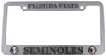 Florida State Seminoles 3D Collegiate License Plate Tag Frame