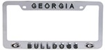 Georgia Bulldogs 3D Collegiate License Plate Tag Frame
