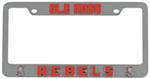 Ole Miss Rebels 3D Collegiate License Plate Tag Frame