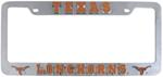 Texas Longhorns 3D Collegiate License Plate Tag Frame