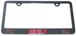 Ole Miss Rebels NCAA 3-D License Plate Frame - Chrome-Plated Steel