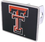 "Texas Tech Red Raiders Trailer Hitch Receiver Cover for 2"" Trailer Hitches"