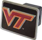"Virginia Tech ""VT"" Logo Trailer Hitch Receiver Cover"