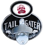 "Montana Grizzlies NCAA Tailgater Hitch Cover with Bottle Opener - 1-1/4"" and 2"" Hitches"