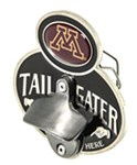 "Minnesota Gophers NCAA Tailgater Hitch Cover with Bottle Opener - 1-1/4"" and 2"" Hitches"