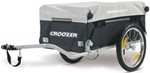 Croozer Bike Trailer and Handcart - Black and Gray - 66 lbs
