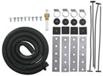 "Derale Single-Hose Transmission Cooler Installation Kit w/ 11/32"" Inner Diameter Hose"
