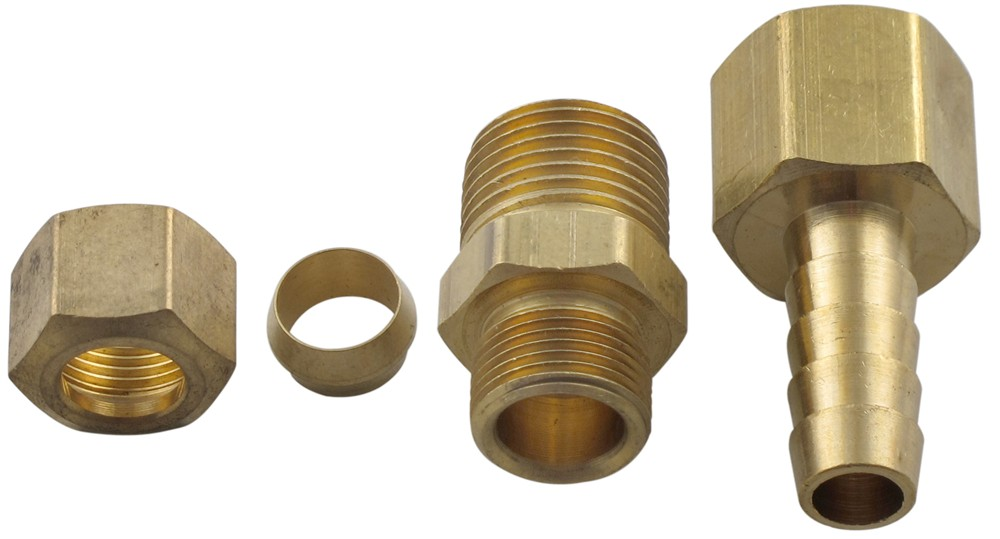 Derale transmission line compression fitting kit