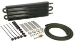 Derale Series 7000 Tube-Fin Transmission Cooler Kit w/ Hose Barb Inlets - Class I - Standard