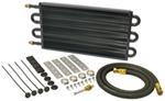Derale Series 7000 Tube-Fin Transmission Cooler Kit w/ AN Inlets - Class III - Standard