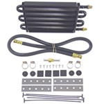 Derale Series 7000 Tube-Fin Transmission Cooler Kit w/ AN Inlets - Class II - Standard