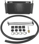 Derale Series 8000 Plate-Fin Transmission Cooler Kit w/Barb Inlets - Class II - Efficient