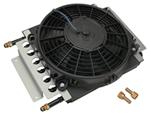 Derale 8-Pass Electra-Cool Remote Cooler Assembly w/ Fan, -6 AN Inlets - Class II