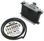 Derale Hyper-Cool Remote Transmission Cooler Kit w/ Fan, -6 AN Inlets - Class V