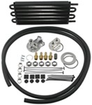Derale Tube-Fin Engine Oil Cooler Kit w/ Spin-On Adapter (Multiple Threads) - Class III