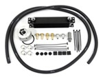 Derale Stacked-Plate Engine Oil Cooler Kit w/ Sandwich Adapter (13/16-16 Threads) - Class III