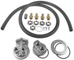 Derale Oil Relocation Kit for Multiple Engine Thread Sizes