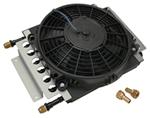 Derale 8-Pass Electra-Cool Remote Cooler Assembly w/ Fan, -8 AN Inlets - Class II