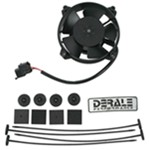 "Derale 4"" High-Output Extreme Paddle Blade Electric Fan - 125 CFM"