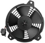 "Derale 5"" High-Output Extreme Paddle Blade Electric Fan - 315 CFM"