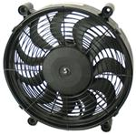 "Derale 12"" High-Output, Electric, Single Radiator Fan -1,450 CFM"