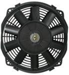 "Derale 8"" Dyno-Cool Straight-Blade Electric Fan with Thermostat Control - 450 CFM"