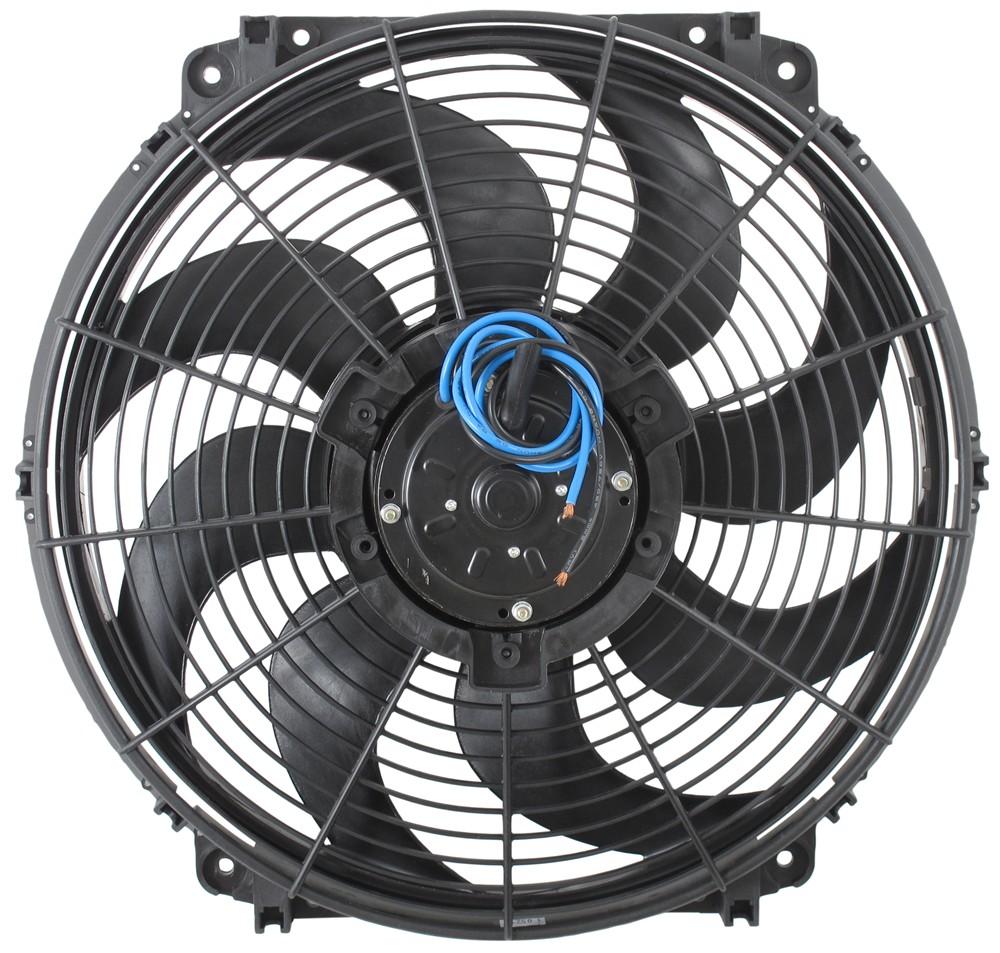 Electric Cooling Fans : Derale quot tornado electric fan cfm
