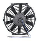 "Derale 10"" Dyno-Cool Straight-Blade Electric Fan - 500 CFM"