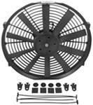 "Derale 14"" Dyno-Cool Straight-Blade Electric Fan - 1,100 CFM"