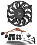 "Derale 12"" High-Output, Electric Radiator Fan - 2,150 CFM"